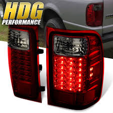 2001 Ford Ranger Brake Lights Not Working Details About For 2001 2011 Ford Ranger Replacement Red Smoke Lens Led Tail Lights Pair Lamps