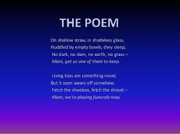 take one home for the kiddies by philip larkin