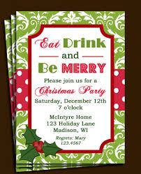 lunch party invitations cloudinvitation com christmas lunch invitation template