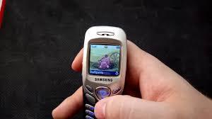 Обзор телефона Samsung SGH C200 - YouTube