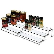 Rubbermaid Coated Wire In Cabinet Spice Rack Amazon Rubbermaid Pull Down Spice Rack White FG100RDWHT 69