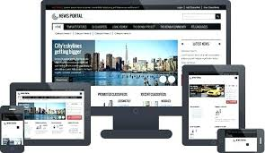 Newspaper Website Template Free Download Php News Website Templates Davidhdz Co