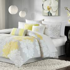 Yellow gray bedding Reversible Comforter Broadwell Piece Reversible Comforter Set Wayfair Yellow Gold Bedding Youll Love Wayfair