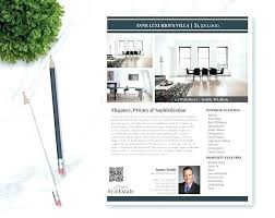 Apple Flyer Templates Flyer Templates For Pages Real Estate Flyer Template 3 Photos Single