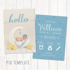 Template For Birth Announcement Baby Birth Announcement Template Free Birth Announcement