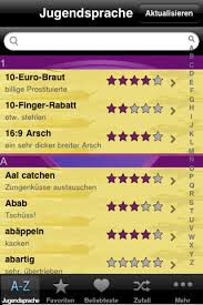 Ination Apps Jugendsprache App Iphone Ipod Lexikon Der
