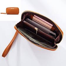 women leisure bucket large capacity wrist wallet card holder phone bag coin purse cod