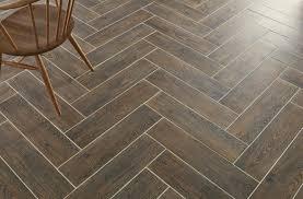 nordic wood dark brown wall and floor tile