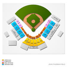 Visalia Rawhide Seating Chart John Thurman Field 2019 Seating Chart