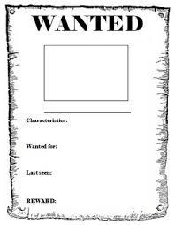 Wanted Poster Template Under Fontanacountryinn Com