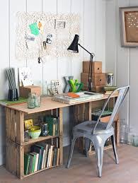 Crate desk Unique Ways to Repurpose Wooden Crates
