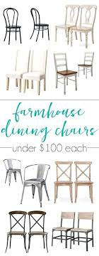 great options for farmhouse dining chairs on a budget all of these are under plans