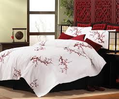 new asian cherry blossom style king size comforter
