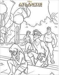 10 Best Disneys Atlantis Malesider Images Coloring Pages