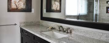Quartz Vs Granite Countertops For Kitchens Interior Wall Mirror Design For Modern Bathroom Decoration With