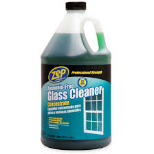 zep commercial ammonia free glass cleaner concentrate 1 gal
