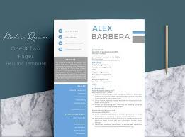 Modern Creative Resume Template Resume Templates Design Modern Creative Resume