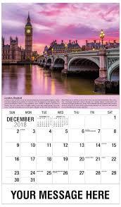 Travel Calendar Travel Destinations Of The World 65 Business Promo Calendar