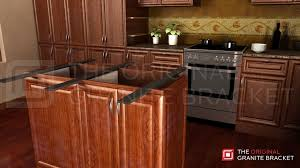 incredible granite countertop support bracket double sided island brace the original kitchen counterop by installed