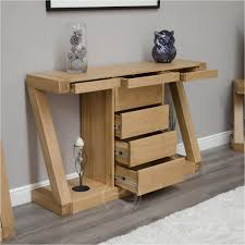 oak hall console table. Solid Wood Sofa Table Gallery Z Shape Oak Hall Console With Drawers H
