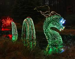 nessie the loch ness monster will have a new smoke feature this year at brookside gardens