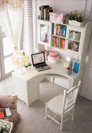 Small White Desks For Bedrooms Bush Industries Vantage Corner Desk White Corner Desks For Home