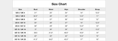 Handmade Skirt Size Chart Luvenza Standard Size Guide Luvenza Independent Designer