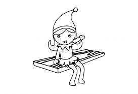 The extra coloring pages collection features coloring sheets inspired by an elf's story movie that is based on the elf on the shelf tradition. Elf On The Shelf Coloring Pages 101 Coloring