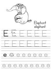Get your kid to color the alphabets on the train. Jan Brett Coloring Traditional Alphabet Tracers
