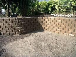 landscape stone wall