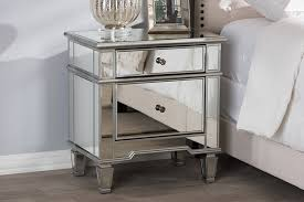 hollywood regency style furniture. Baxton Studio Sussie Hollywood Regency Glamour Style Mirrored 2 Nightstand Home Pictures Furniture