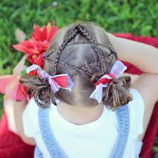 Fourth Of July Hairstyles Happy Fourth July Kids Star Hair Fash Circle