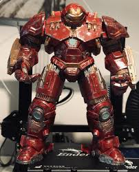 The hulkbusters were targeted in central park by the enclave, who sought to steal their armor. 3d Printable Avengers Hulkbuster By Eric Wilkinson