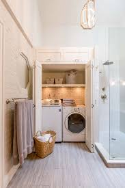 lovely laundry inside bathroom combo plan ideas house plans attached master closet with in room off