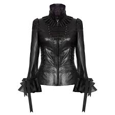 impero london las luxury black leather victorian corset costume jacket impero london from impero london uk