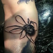Little 3d Spider Done At Maastricht Luke Sayer Tattoo Artist