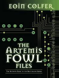 look inside this book artemis fowl files the by colfer eoin