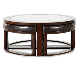 ashley round coffee table with stools