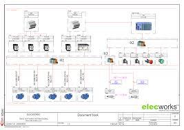"""house wiring diagram program wiring diagram schematics electrical design software elecworksâ""""¢"""