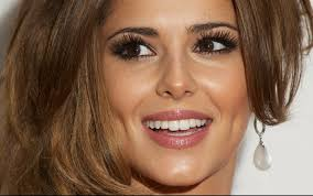 great hq photo of cheryl cole s makeup smokey neutrals and lip