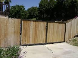 wood fence driveway gate.  Fence Wood Fence Driveway Gate On W