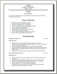Clinical Pharmacist Cover Letter Resume Cover Letter Example ...