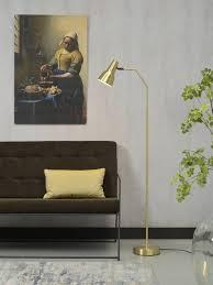 Moderne Vloerlamp Staande Moderne Vloerlamp Valencia Goud Van Its About Romi
