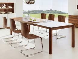 modern kitchen table set. Dining Room Decoration Using Silver Metal Wooden Chair Including Large Mirrored Dome Steel Modern Kitchen Table Set