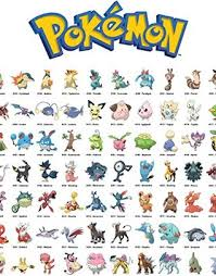 pokemon pokedex character guide