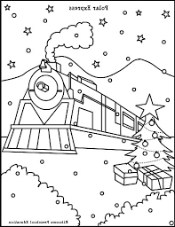 Polar Express Coloring Sheets The Best Polar Express Coloring Sheets