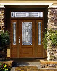 luxury front doorsLuxury solid wood front door with glass