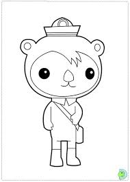 Small Picture Octonauts Coloring page DinoKidsorg
