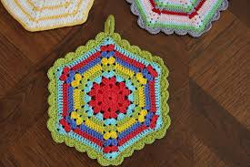 Crochet Potholder Patterns Best Photos Of Free Crochet Potholder Patterns Vintage Free Vintage