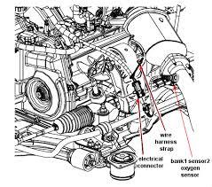 pontiac g6 sedan base model where is the oxygen sensor located